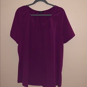 Reitmans XXL purple blouse